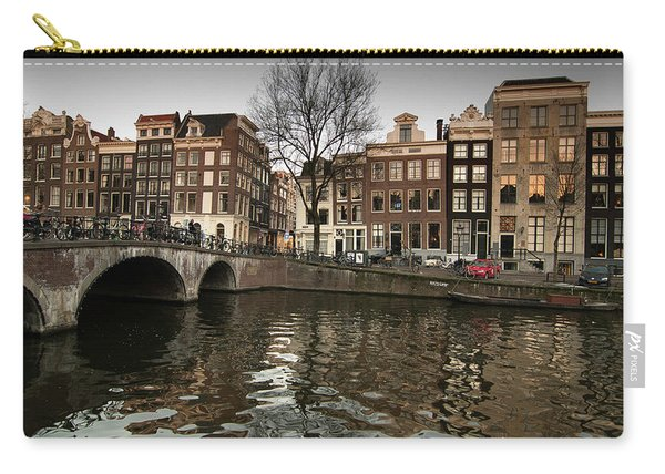 Amsterdam Canal Bridge Carry-all Pouch