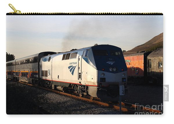 Amtrak Trains At The Niles Canyon Railway In Historic Niles District California . 7d10856 Carry-all Pouch