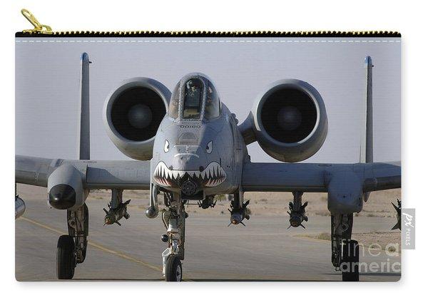 An A-10 Thunderbolt II Carry-all Pouch