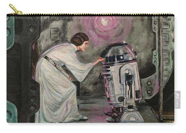 Carry-all Pouch featuring the painting An Act Of Rebellion by Joel Tesch