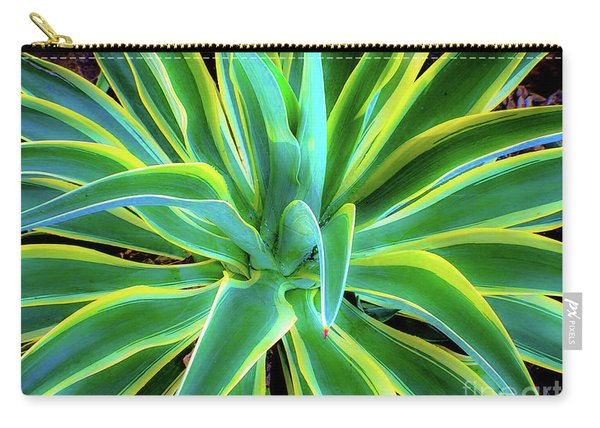 An Agave In Color  Carry-all Pouch