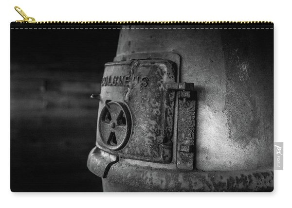 An Antique Stove Carry-all Pouch