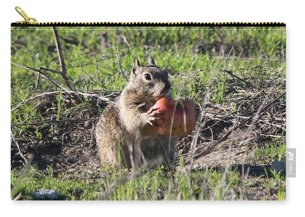 Carry-all Pouch featuring the photograph An Apple A Day  by Christy Pooschke