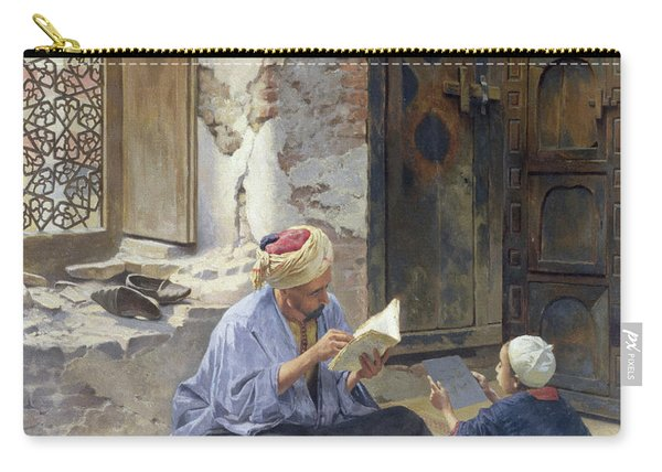 An Arab Schoolmaster Carry-all Pouch
