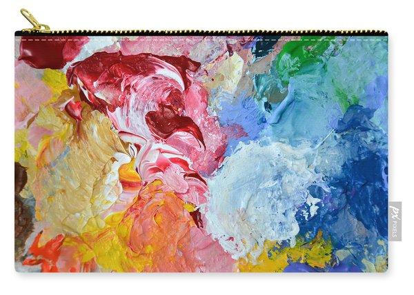An Artful Blend Carry-all Pouch