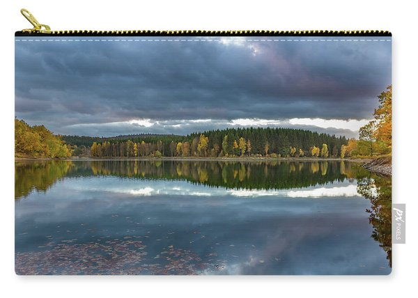 An Autumn Evening At The Lake Carry-all Pouch