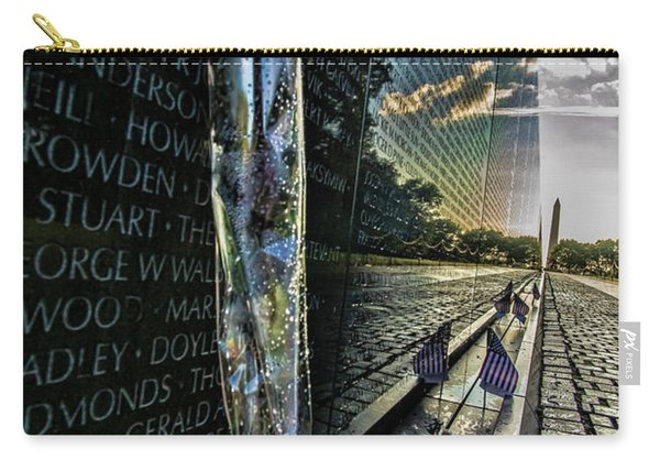 An Early Morning Look At Vietnam Veterans Memorial Carry-all Pouch