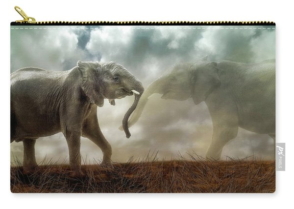 An Elephant Never Forgets Carry-all Pouch