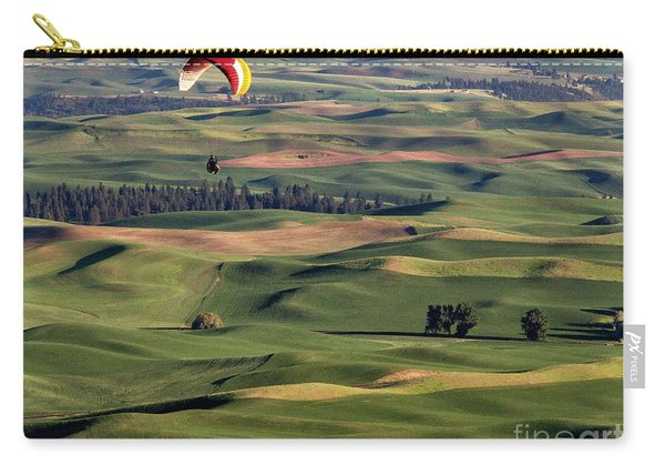 An Evening Flight Agriculture Art By Kaylyn Franks Carry-all Pouch