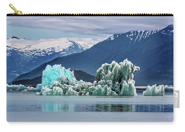 An Iceberg In The Inside Passage Of Alaska Carry-all Pouch