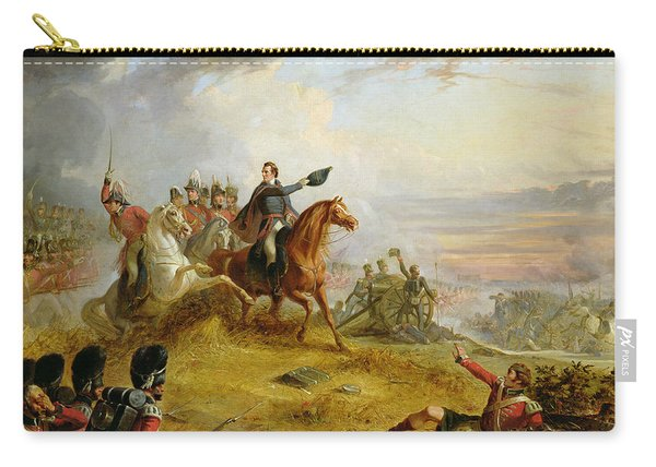 An Incident At The Battle Of Waterloo Carry-all Pouch