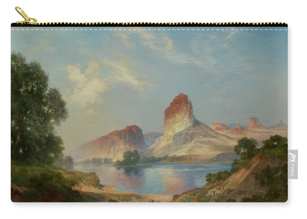 An Indian Paradise , Green River, Wyoming Carry-all Pouch