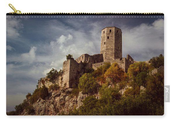 An Old Abandoned Castle Carry-all Pouch