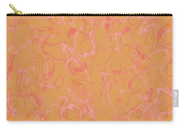 Analogous Dribble Painting Carry-all Pouch
