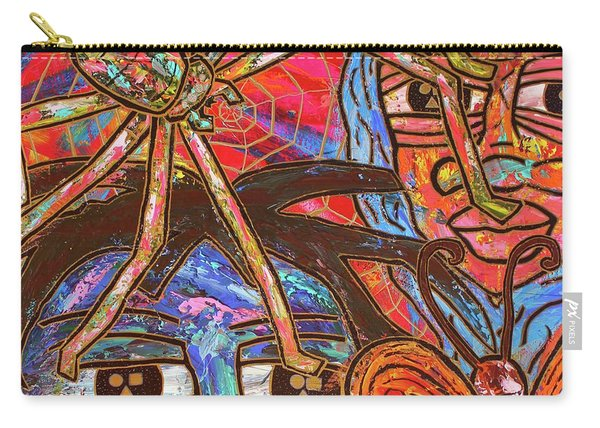 Anansi's Web Carry-all Pouch