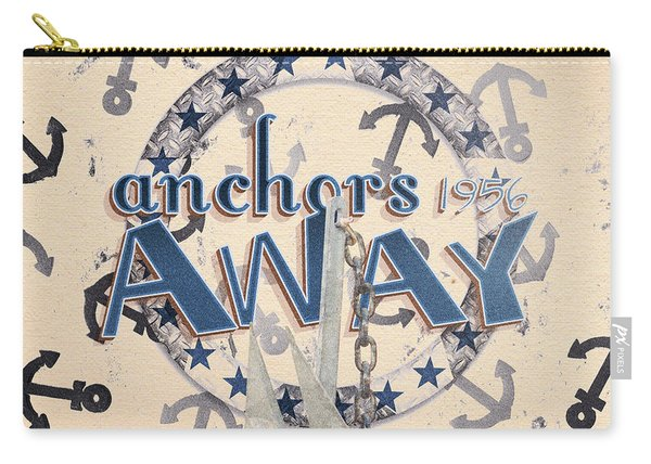 Anchors Away 1956 Carry-all Pouch