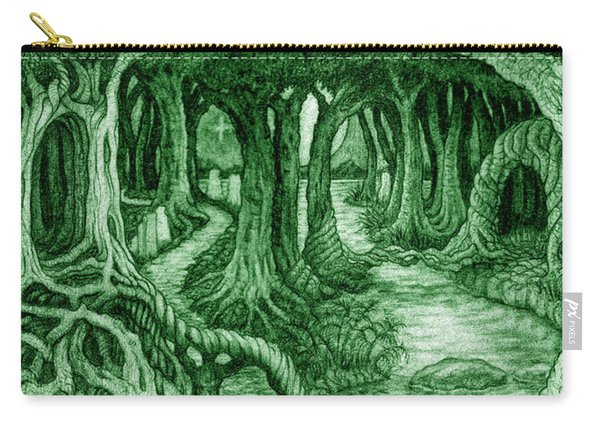 Ancient Forest Carry-all Pouch