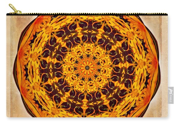 Ancient Sun Kaleidoscope Carry-all Pouch