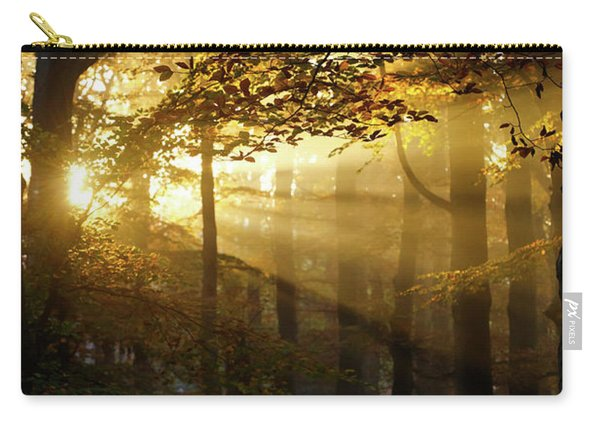 And Then There Was Light - Autumn Forest Carry-all Pouch