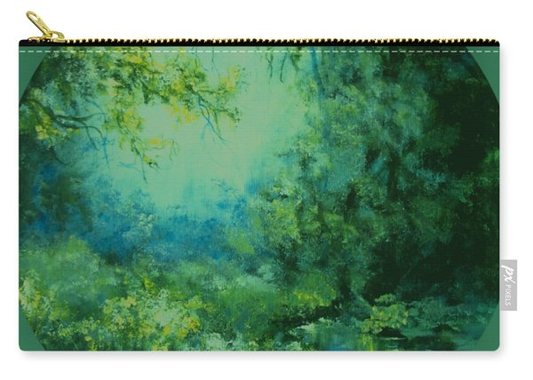 And Time Stood Still Carry-all Pouch