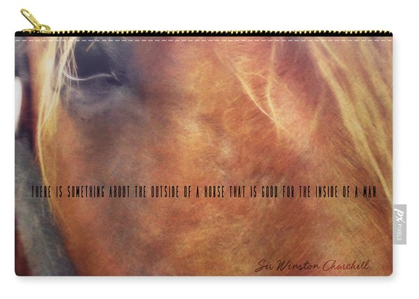 Andalusian Eye Quote Carry-all Pouch