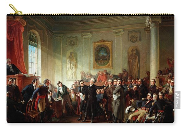 Andrew Jackson Before Judge Hall, New Orleans Carry-all Pouch