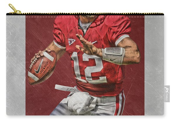 Andrew Luck Stanford Cardinals Art Carry-all Pouch
