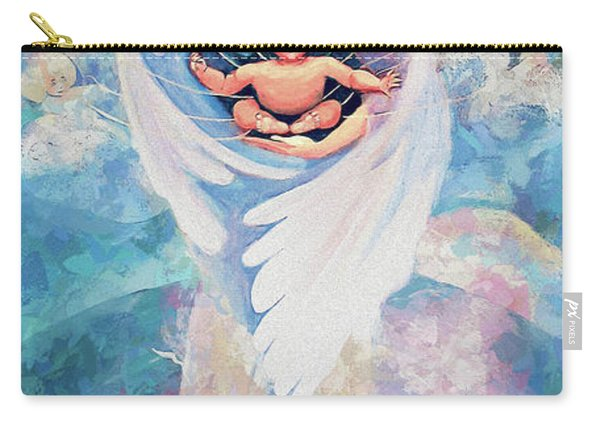 Angel Blessing Carry-all Pouch