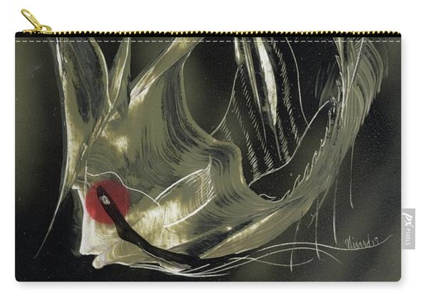 Angel Fish Abstract Carry-all Pouch