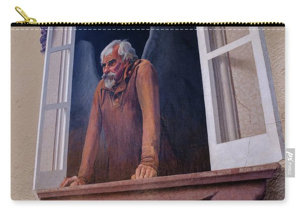 Angel In A Window In Frederick Maryland Carry-all Pouch