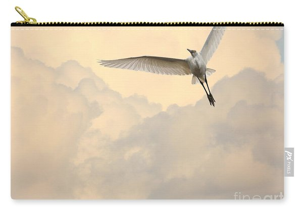Angel In The Sky Carry-all Pouch
