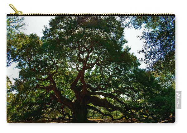 Angel Oak Tree 2004 Carry-all Pouch