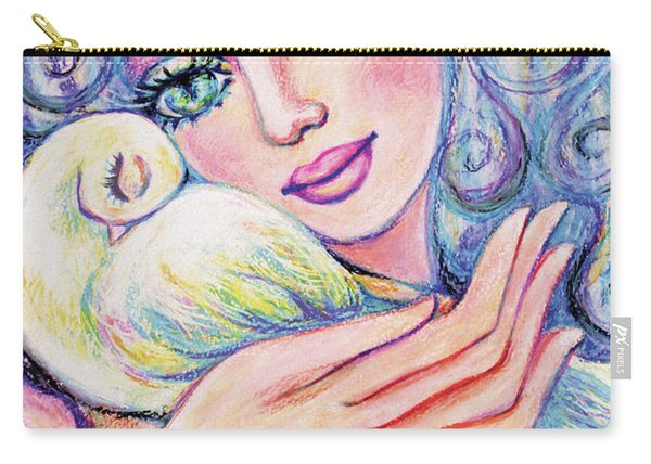 Angel Of Tranquility Carry-all Pouch