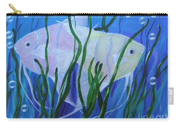 Angelfish Duo Carry-all Pouch