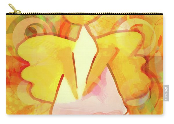 Angelino Yellow Carry-all Pouch