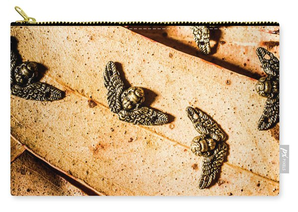 Angels With Wings Carry-all Pouch