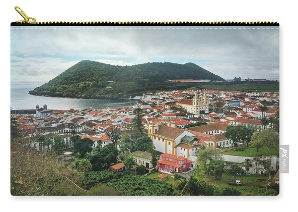 Angra Do Heroismo And Monte Brasil, Terceira Island Carry-all Pouch
