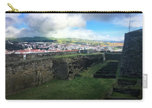 Angra Do Heroismo From The Fort Of Monte Brasil  Carry-all Pouch
