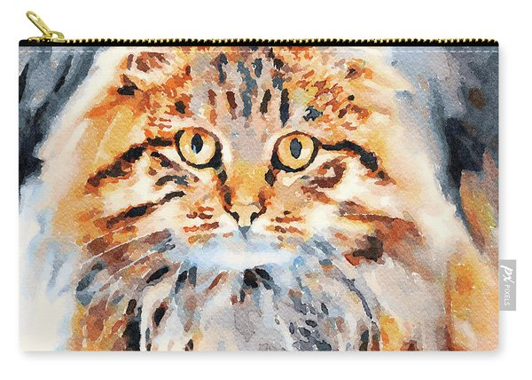 Angry Cat 2 Carry-all Pouch