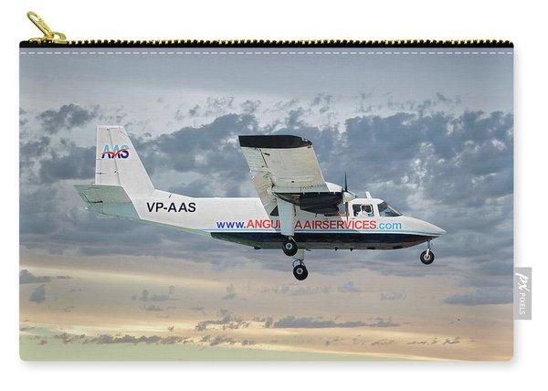 Anguilla Air Services Britten-norman Bn-2a-26 Islander 114 Carry-all Pouch