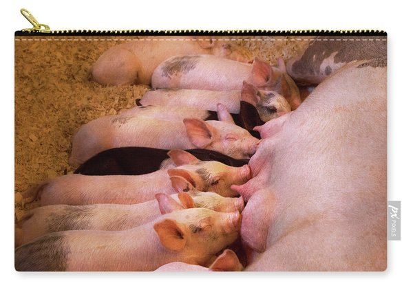 Animal - Pig - Comfort Food Carry-all Pouch