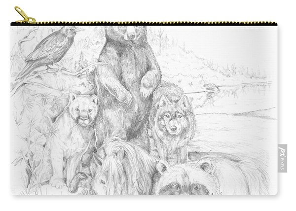 Animal Wisdom Carry-all Pouch