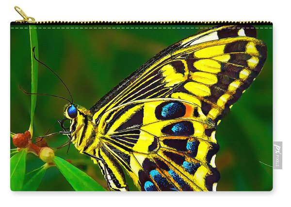 Anise Swallowtail Butterfly Carry-all Pouch