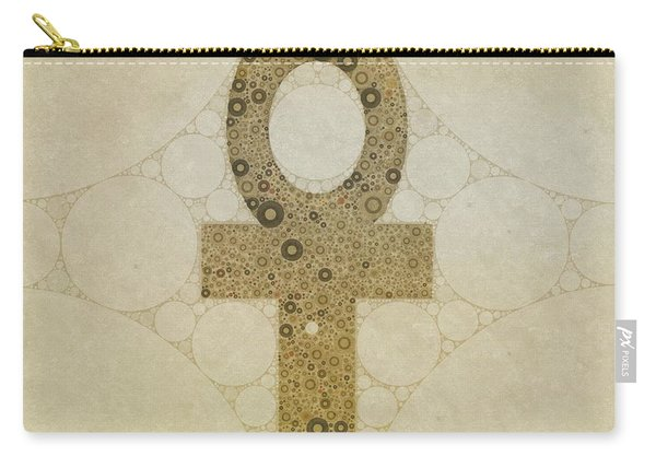 Ankh, Sacred Symbol, Pop Art By Mb Carry-all Pouch