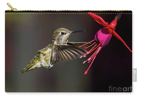 Anna Juvenile Hummingbird Carry-all Pouch
