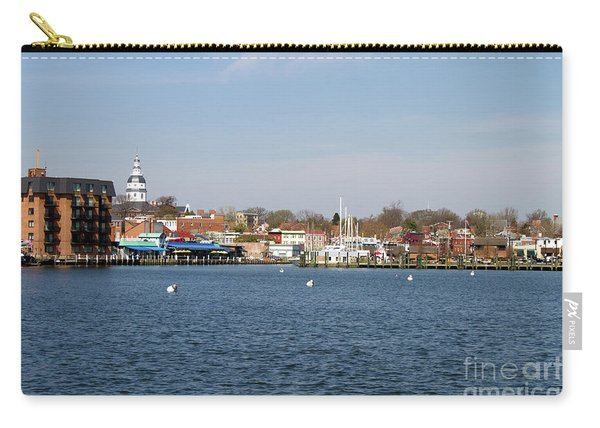 Annapolis City Skyline Carry-all Pouch