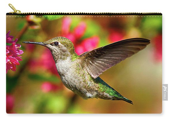 Anna's Hummingbird Carry-all Pouch