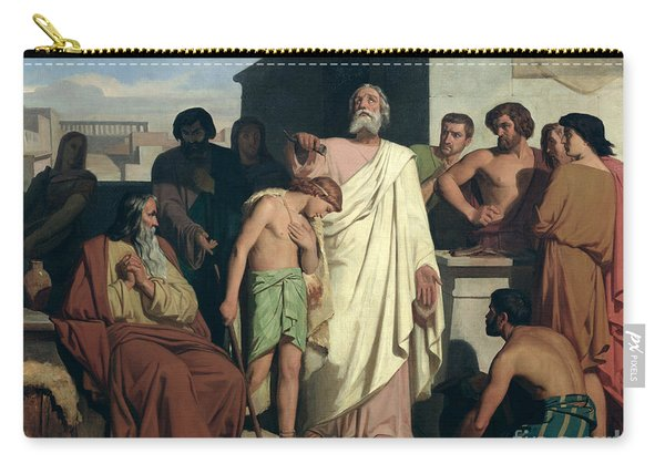 Annointing Of David By Saul Carry-all Pouch