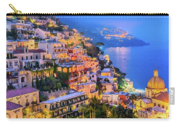 Another Glowing Evening In Positano Carry-all Pouch