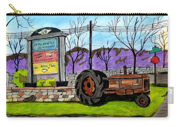 Another Old Tractor Carry-all Pouch